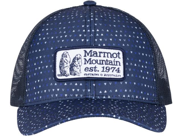 Marmot Angles Trucker-lippis, arctic navy
